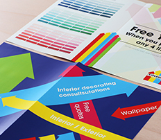 Digital printing printing the print company booklets brochures brochures business cards reheart Image collections